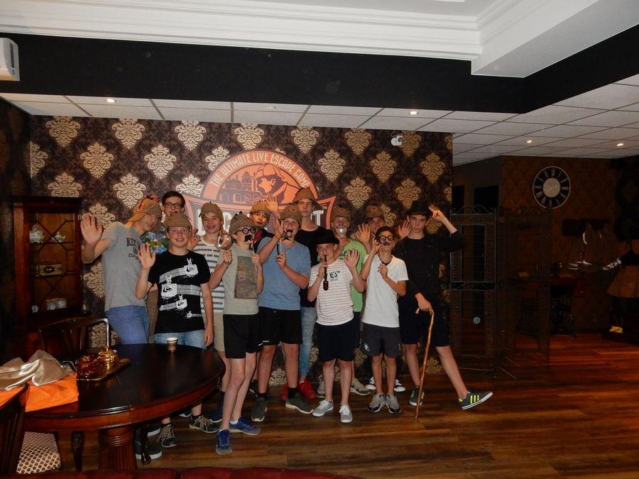 Escape Room Maastricht spelers kinderfeesjte maastricht