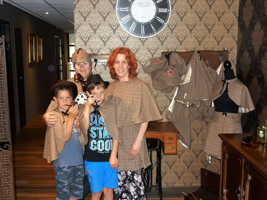 Escape Room Maastricht spelers juli 2016