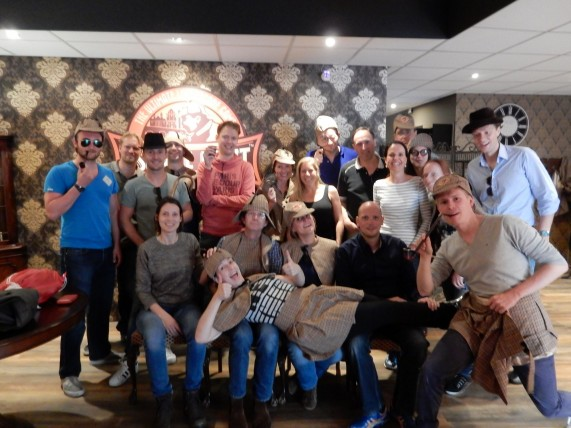 Teambuilding Maastricht bij The Escape Hunt Experience