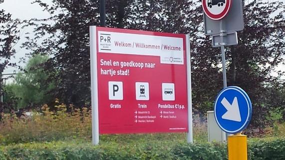 Gratis parkeren Maastricht P+R Noord