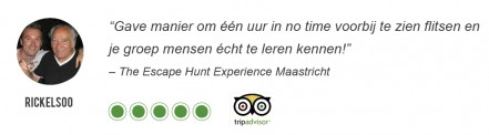 Review Escape Hunt Maastricht – Tripadvisor RickElsoo