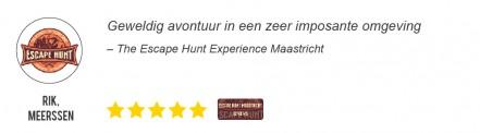 Reviews en Beoordelingen voor The Escape Hunt Maastricht - Rick Meerssen