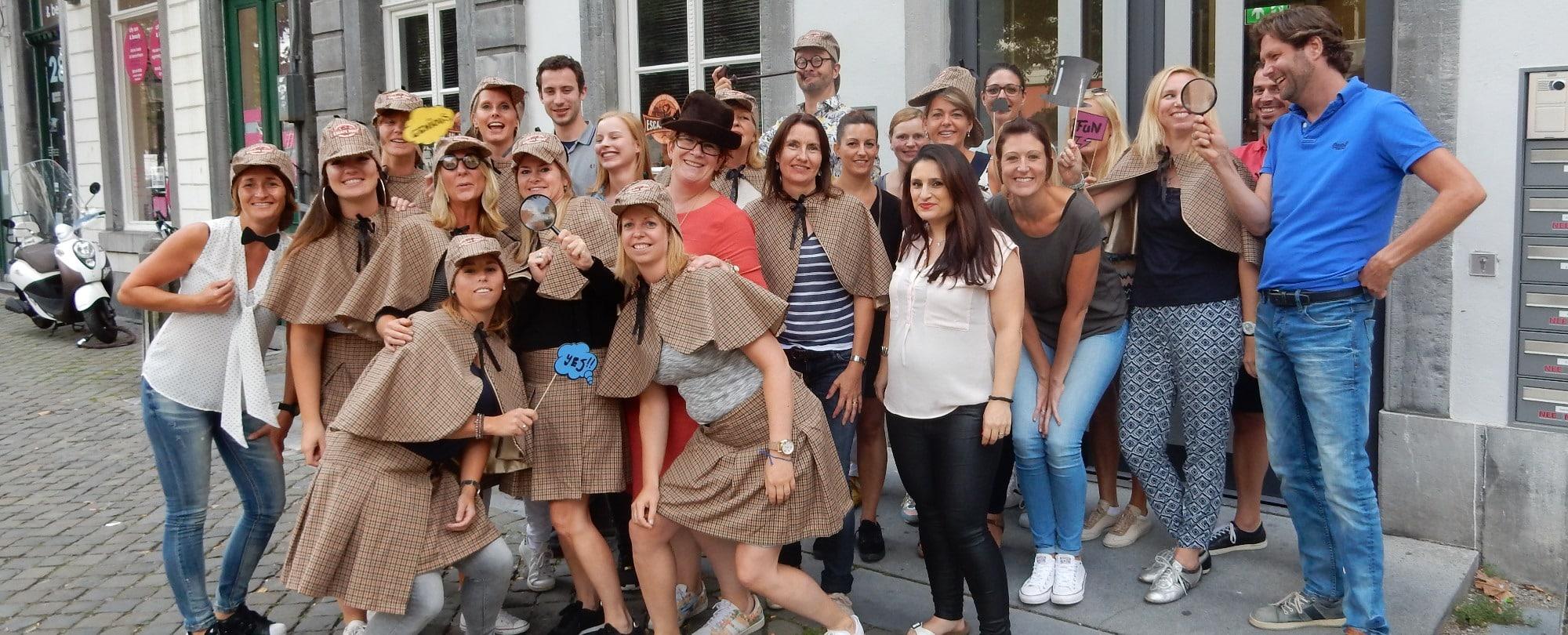 Escape room Maastricht - groepsactiviteit tot 36 personen