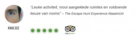 Review Escape Hunt Maastricht – raul322