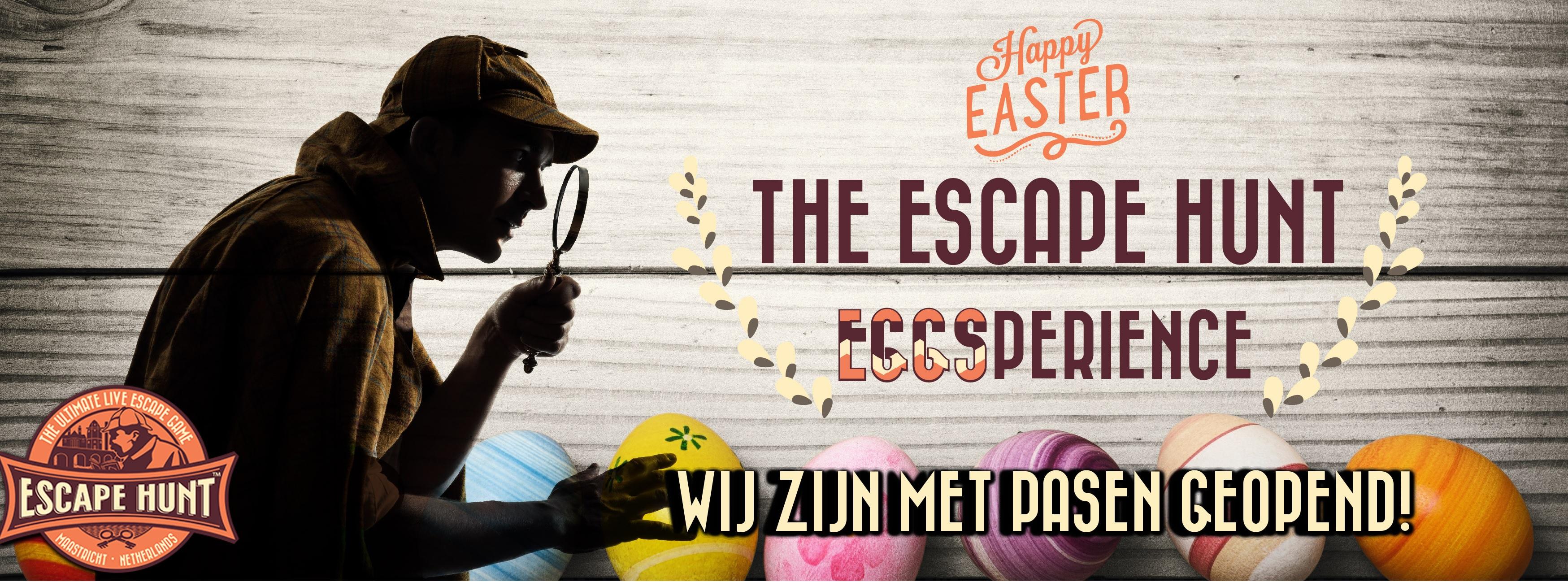 Met Pasen is The Escape Hunt Maastricht geopend!
