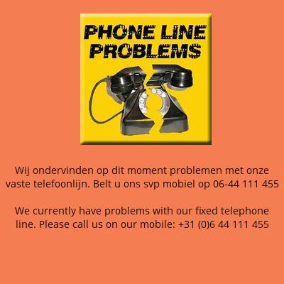 Problemen telefoonlijn