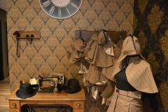 Escape room fotoshoot - Escape Hunt kleding hoek
